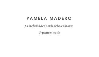 firma Pamela Madero